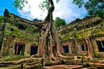 du lich Viet Thien Phu ta prohm