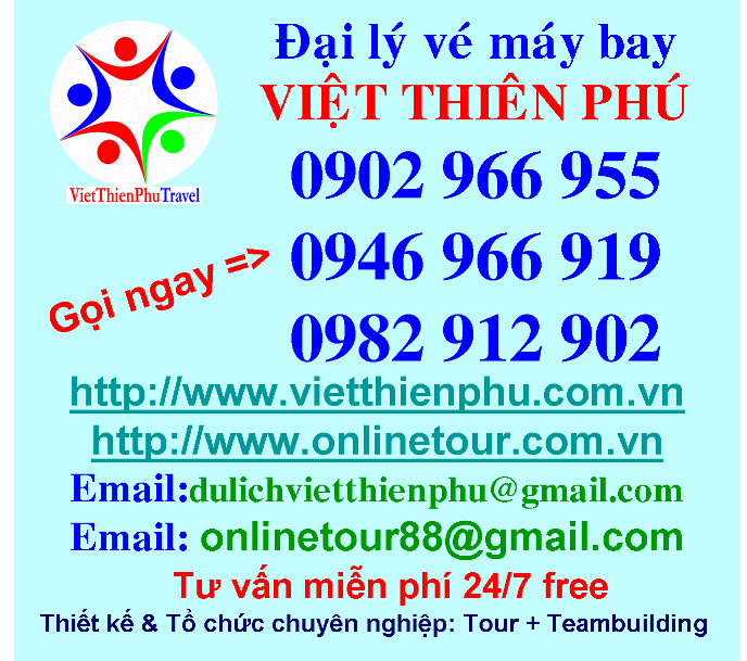 Dai ly ve may bay, viet thien phu